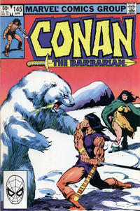 Cover Thumbnail for Conan the Barbarian (Marvel, 1970 series) #145 [Direct Edition]