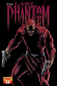 Cover Thumbnail for The Last Phantom (Dynamite Entertainment, 2010 series) #1 [Neves 1-in-15 Chase Cover]