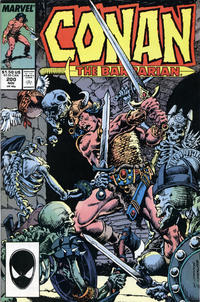 Cover Thumbnail for Conan the Barbarian (Marvel, 1970 series) #200 [Direct Edition]
