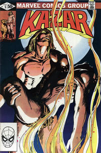 Cover for Ka-Zar the Savage (1981 series) #5