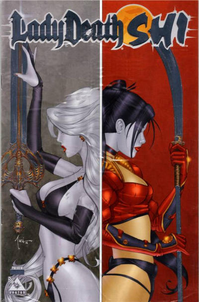 Cover for Lady Death / Shi Preview (2006 series) #[nn] [Platinum]