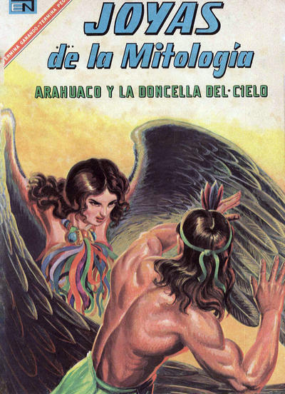 Cover for Joyas De La Mitología (Editorial Novaro, 1962 series) #72