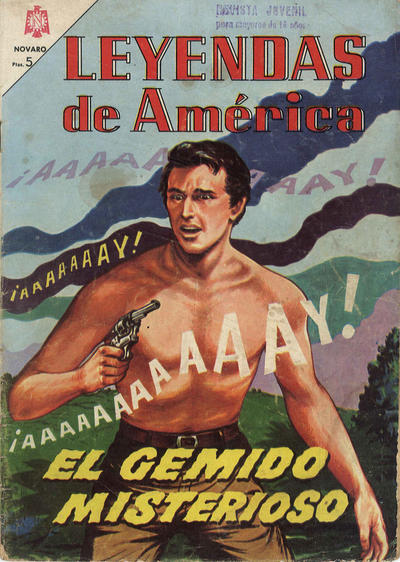 Cover for Leyendas de América (Editorial Novaro, 1956 series) #104