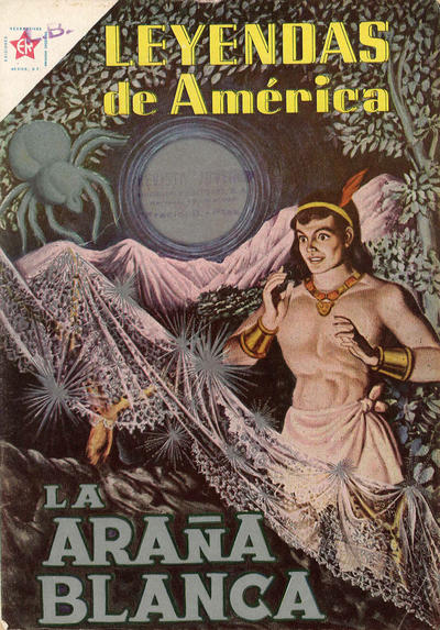 Cover for Leyendas de América (Editorial Novaro, 1956 series) #49