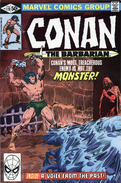 Cover for Conan the Barbarian (1970 series) #119