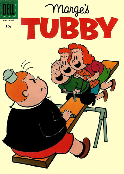 Cover for Marge's Tubby (Dell, 1953 series) #28 [15¢ edition]