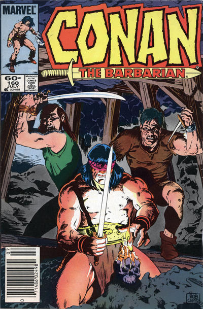 Cover for Conan the Barbarian (Marvel, 1970 series) #160 [Direct Edition]