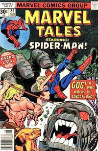 Cover Thumbnail for Marvel Tales (Marvel, 1966 series) #82 [30 cent cover price]