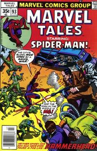 Cover Thumbnail for Marvel Tales (Marvel, 1966 series) #93
