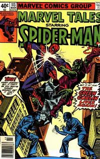 Cover Thumbnail for Marvel Tales (Marvel, 1966 series) #113