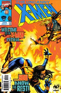 Cover Thumbnail for The Uncanny X-Men (Marvel, 1981 series) #351 [Direct Edition]