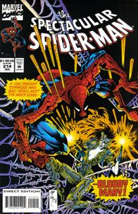 Cover Thumbnail for The Spectacular Spider-Man (Marvel, 1976 series) #214