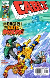 Cover Thumbnail for Cable (Marvel, 1993 series) #53 [Direct Edition]