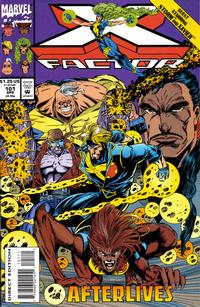 Cover Thumbnail for X-Factor (Marvel, 1986 series) #101 [Direct Edition]