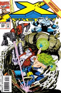 Cover Thumbnail for X-Factor (Marvel, 1986 series) #102 [Direct Edition]