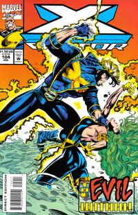 Cover Thumbnail for X-Factor (Marvel, 1986 series) #104 [Direct Edition]