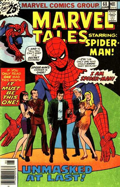 Cover for Marvel Tales (Marvel, 1966 series) #68