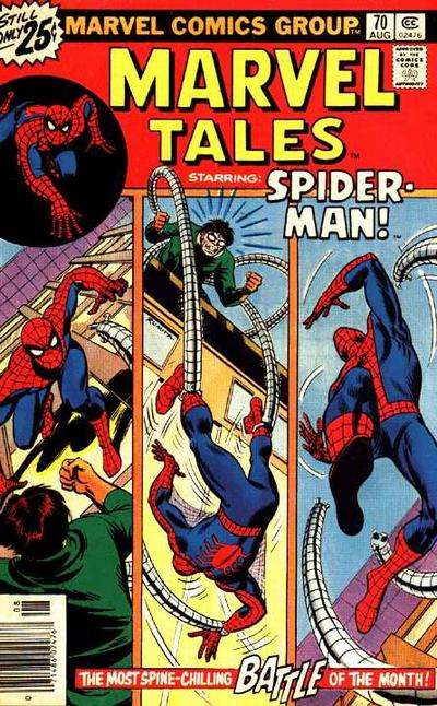Cover for Marvel Tales (Marvel, 1966 series) #70