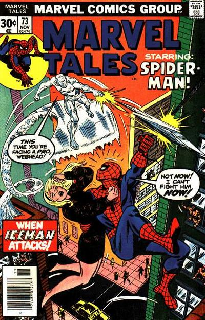Cover for Marvel Tales (1966 series) #73