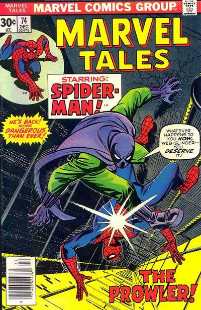 Cover for Marvel Tales (Marvel, 1966 series) #74