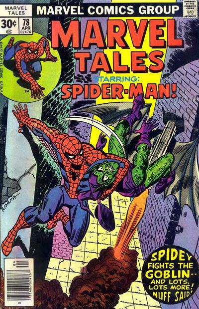 Cover for Marvel Tales (Marvel, 1966 series) #78