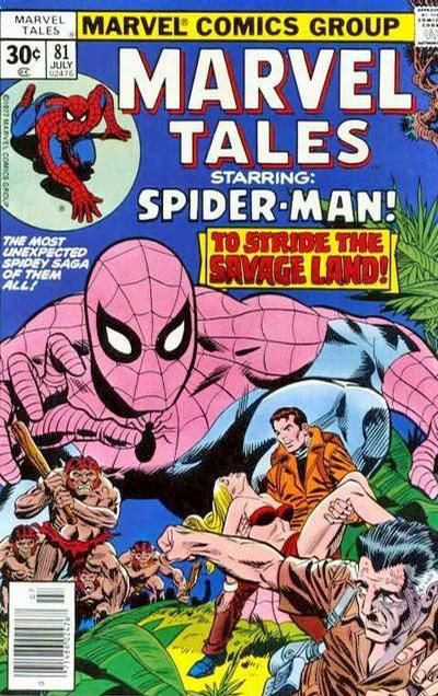 Cover for Marvel Tales (Marvel, 1966 series) #81 [35 cent cover price variant]