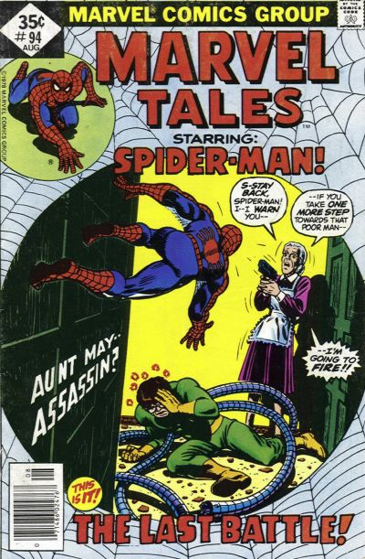 Cover for Marvel Tales (Marvel, 1966 series) #94