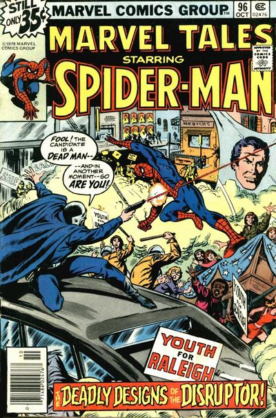 Cover for Marvel Tales (Marvel, 1966 series) #96