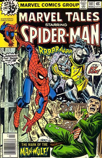 Cover for Marvel Tales (Marvel, 1966 series) #101