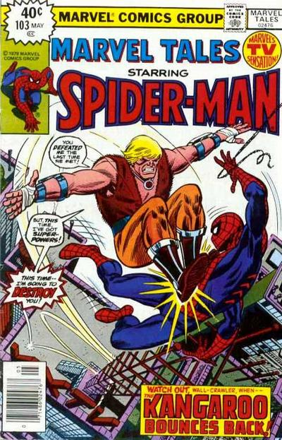 Cover for Marvel Tales (Marvel, 1966 series) #103