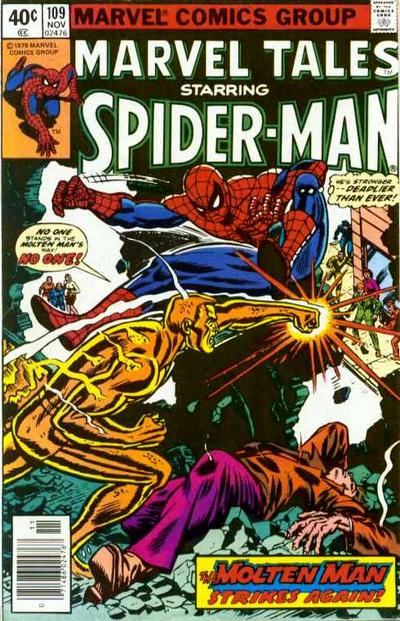 Cover for Marvel Tales (Marvel, 1966 series) #109