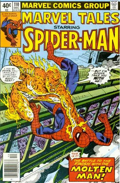 Cover for Marvel Tales (Marvel, 1966 series) #110