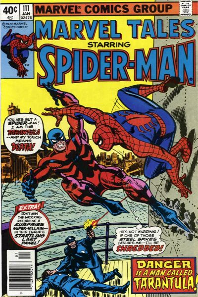 Cover for Marvel Tales (Marvel, 1966 series) #111