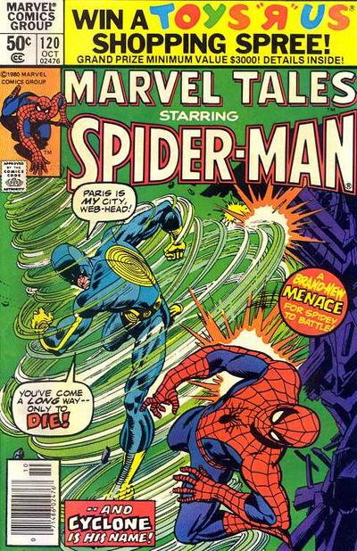 Cover for Marvel Tales (Marvel, 1966 series) #120