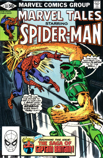 Cover for Marvel Tales (Marvel, 1966 series) #131