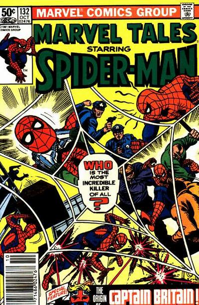 Cover for Marvel Tales (1966 series) #132 [Newsstand]