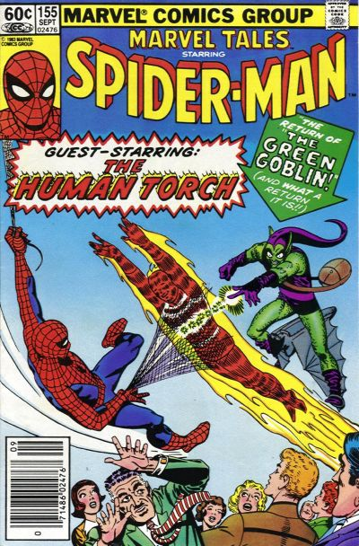 Cover for Marvel Tales (Marvel, 1966 series) #155