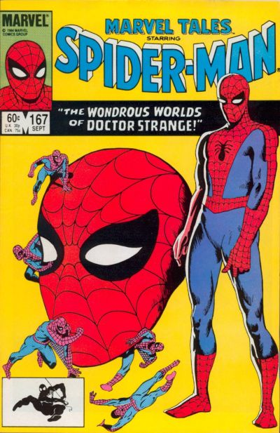 Cover for Marvel Tales (1966 series) #167