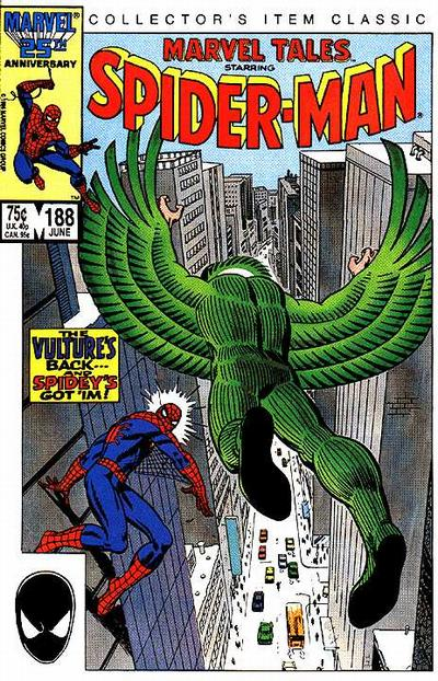 Cover for Marvel Tales (1966 series) #188 [Newsstand Edition]