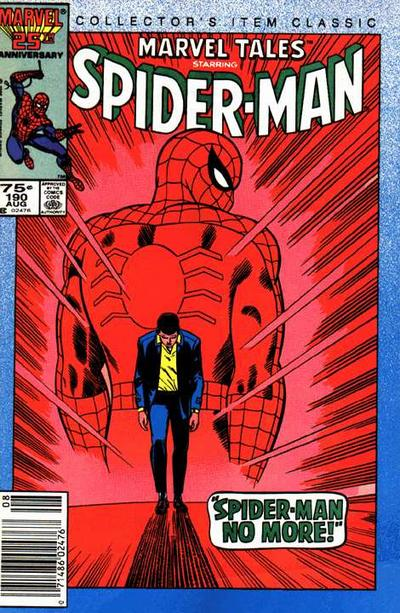 Cover for Marvel Tales (Marvel, 1966 series) #190