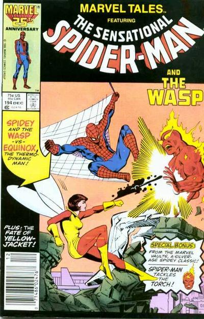 Cover for Marvel Tales (Marvel, 1966 series) #194