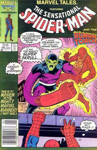 Cover for Marvel Tales (Marvel, 1966 series) #195
