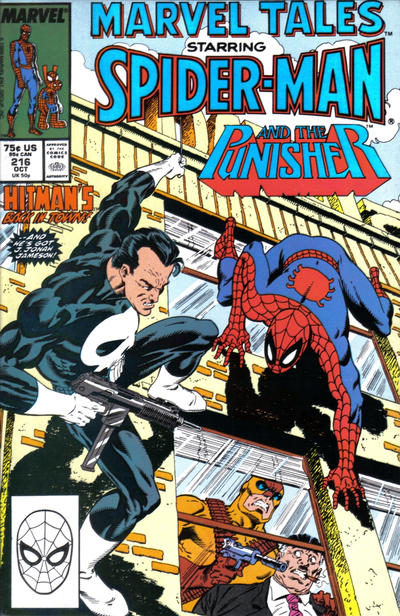 Cover for Marvel Tales (Marvel, 1966 series) #216