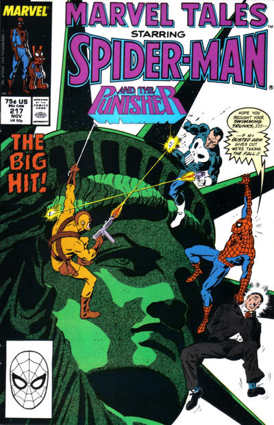 Cover for Marvel Tales (Marvel, 1966 series) #217