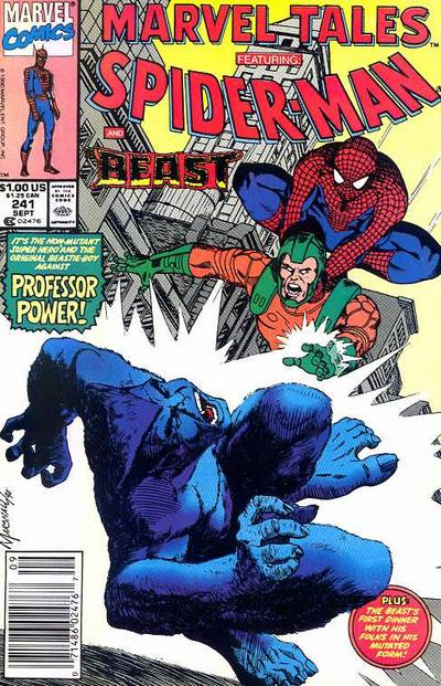 Cover for Marvel Tales (1966 series) #241 [Direct Edition]