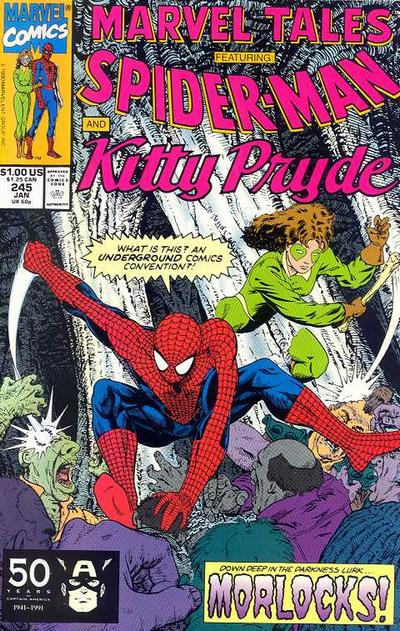 Cover for Marvel Tales (Marvel, 1966 series) #245 [Direct Edition]