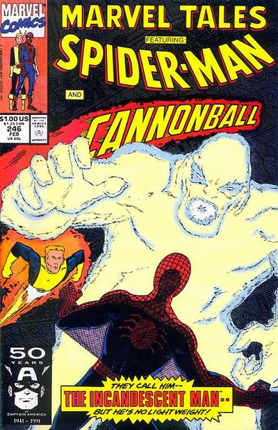 Cover for Marvel Tales (Marvel, 1966 series) #246 [Direct Edition]