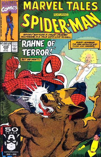 Cover for Marvel Tales (1966 series) #248