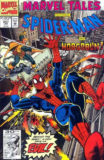 Cover for Marvel Tales (Marvel, 1966 series) #257