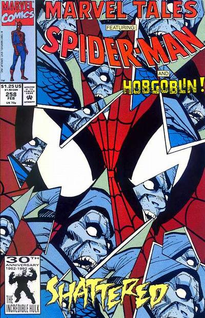 Cover for Marvel Tales (Marvel, 1966 series) #258